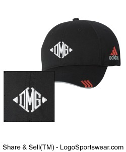 Adidas Golf Lightweight Cotton Cap Design Zoom