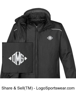 Mens Atmosphere HD 3-in-1 System Jacket Design Zoom