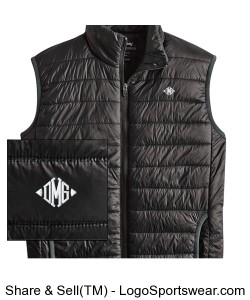 Mens Ultra Light Puffer Vest Design Zoom